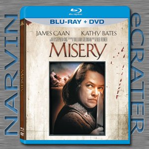 Misery (1990) [Blu-ray + DVD Combo] [2 Discs]