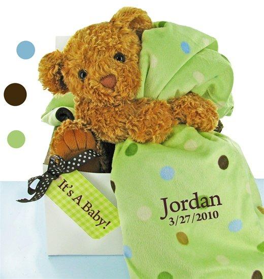 Bear Essentials Gift Set-Green