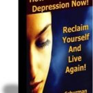 How to Stop Your Depression Now! Do not wait!