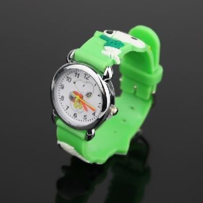 Green Cute wrist watch for children