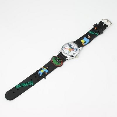 black Batman Cute wrist watch for children