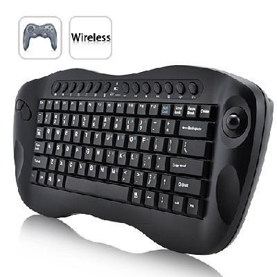 Computer Remote Control � Mini Wireless Keyboard with Trackball