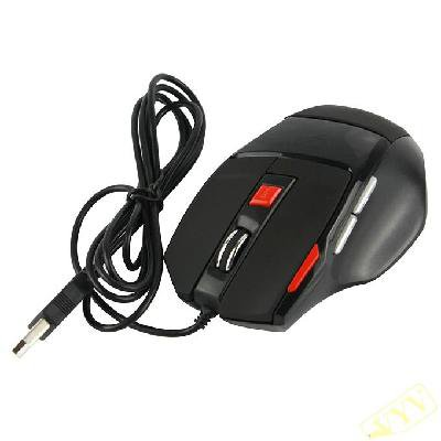 USB 2.0 Wired optical game mouse For PC Laptop