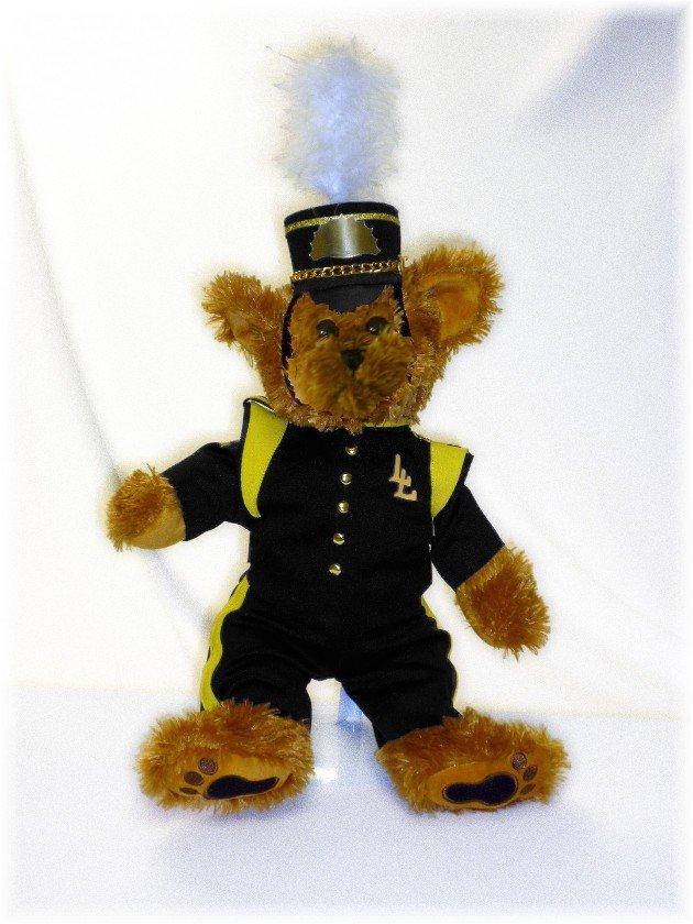 Lake Lehman HS Marching Band Uniform Teddy Bear