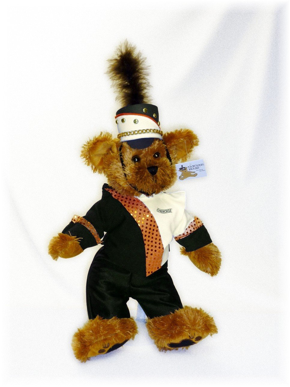 Cherokee HS Marching Band Uniform Teddy Bear
