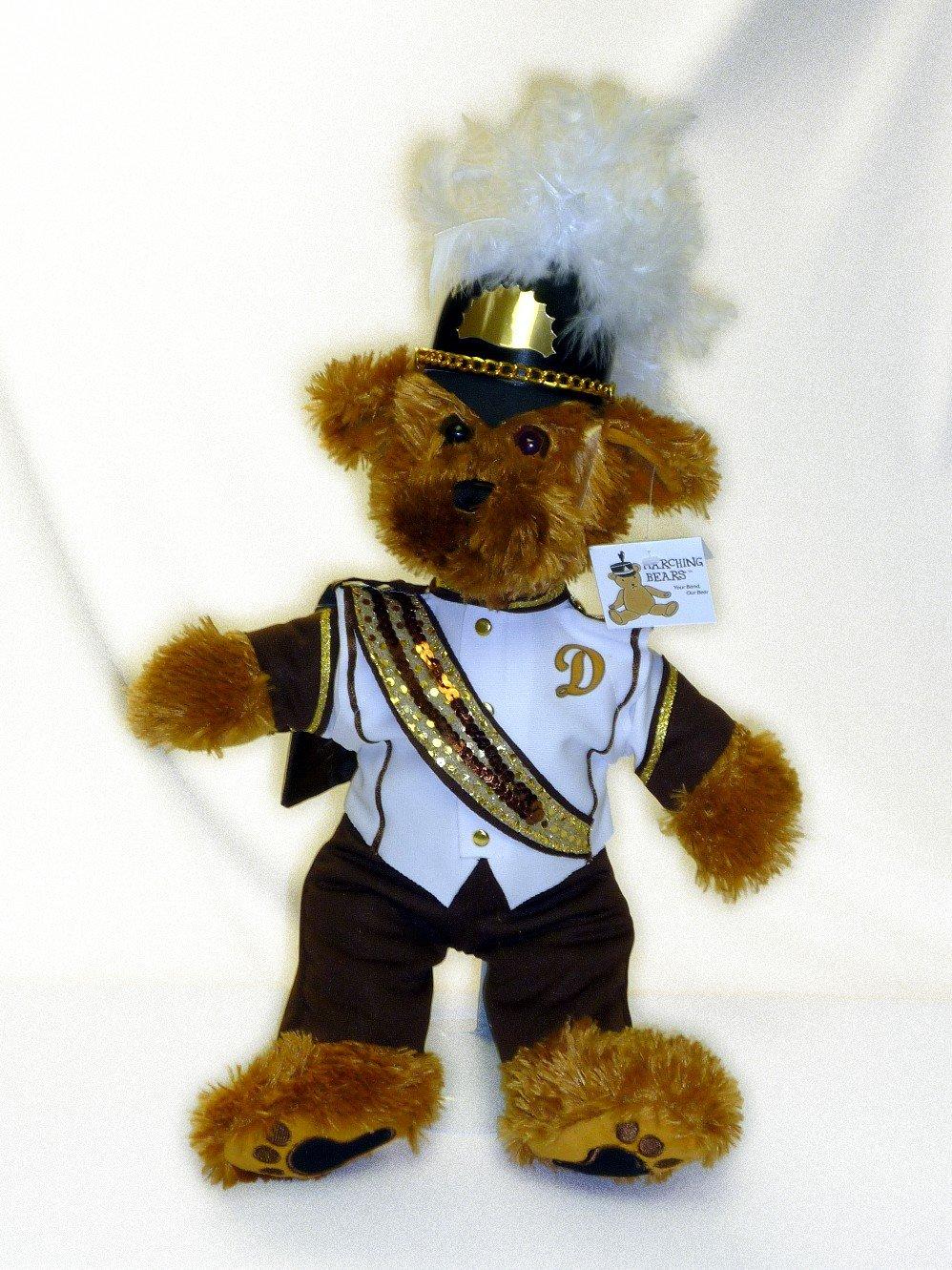 Delran HS Marching Band Uniform Teddy Bear