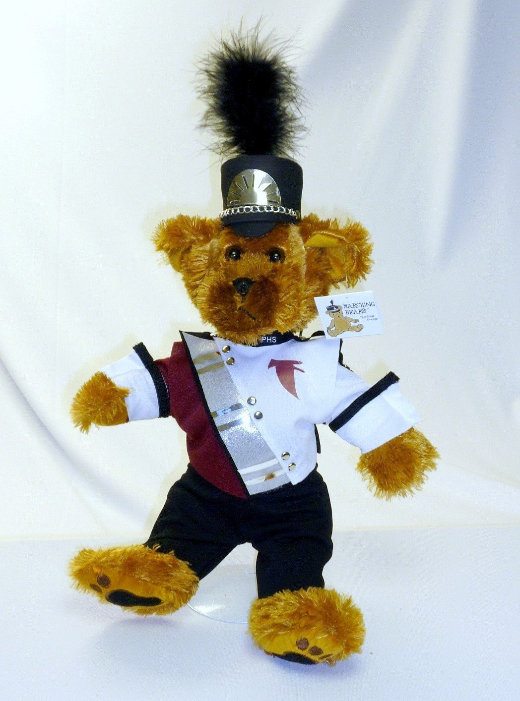 Pottsgrove HS Marching Band Uniform Teddy Bear