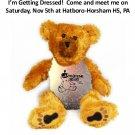 Pemberton HS Marching Band Uniform Teddy Bear