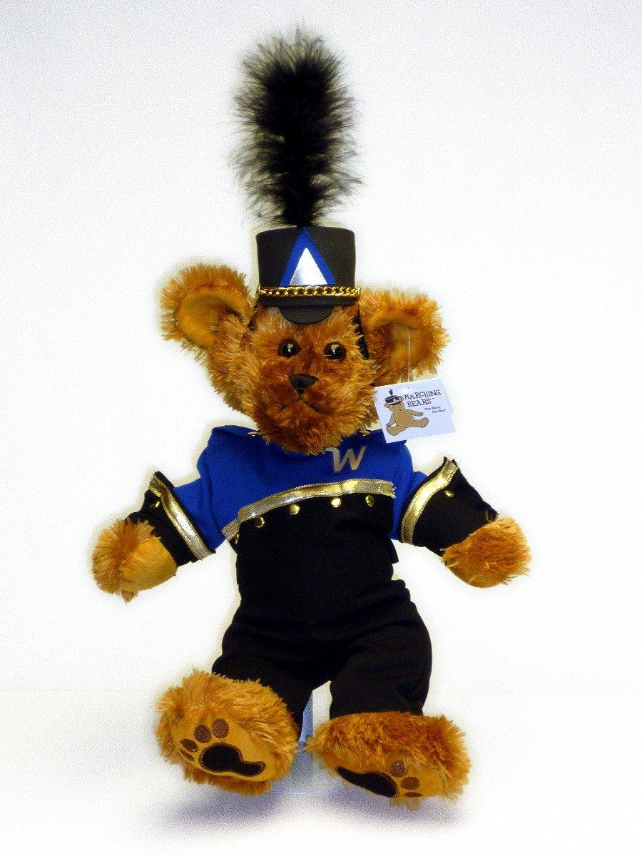 Wissahickon HS Marching Band Uniform Teddy Bear