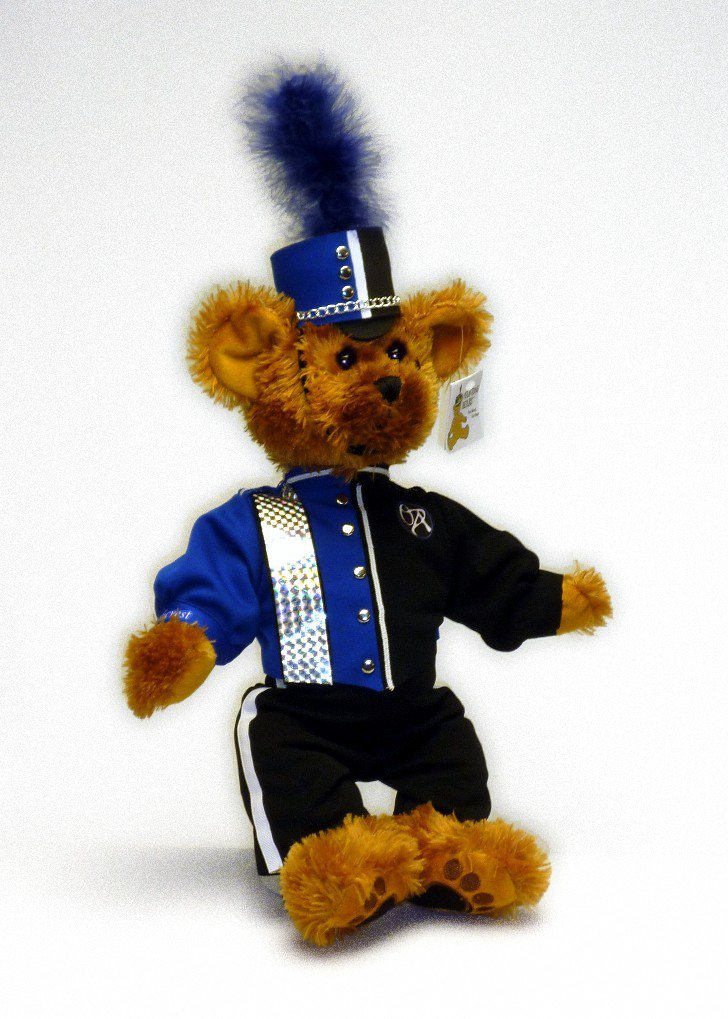 Oakcrest HS Marching Band Uniform Teddy Bear