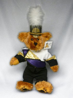 Blackstone-Millville HS Marching Band Uniform Teddy Bear