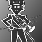 Brass - TROMBONE Decal