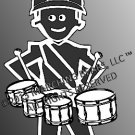 Percussion/Battery - TENOR DRUMS Decal