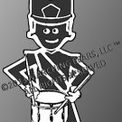 Percussion/Battery - SNARE DRUM Decal