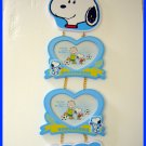 Peanuts Snoopy Woodstock Wall Hanging Photo Frame, NIB