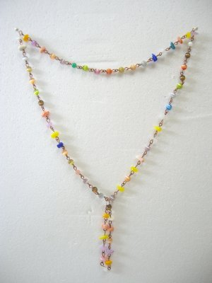 Brand New Multi-Color Beads Necklace