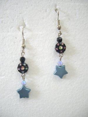 Brand New Fashionable Multi-Color Beads Dangle Hook Earrings