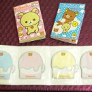 Set of 3 Pcs San-X Rilakkuma Bear Memo Pads/Note Pads
