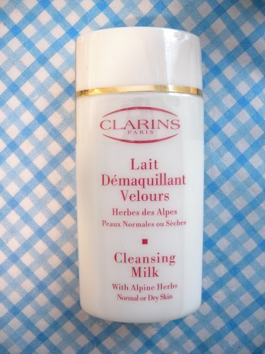Clarins Paris Cleansing Milk with Alpine Herbs for Normal or Dry Skin 60ml