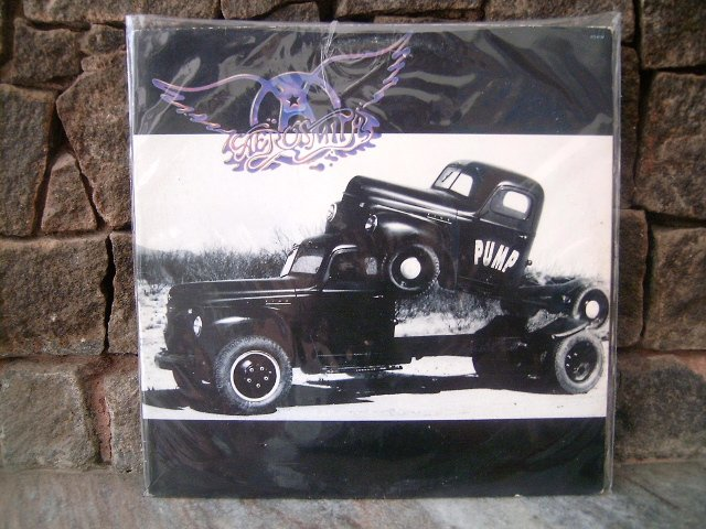 AEROSMITH Pump LP 1989 HARD ROCK VINL