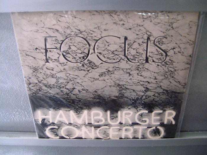FOCUS Hamburger Concerto LP 1974 ORIGINAL PROGRESSIVO MUITO RARO