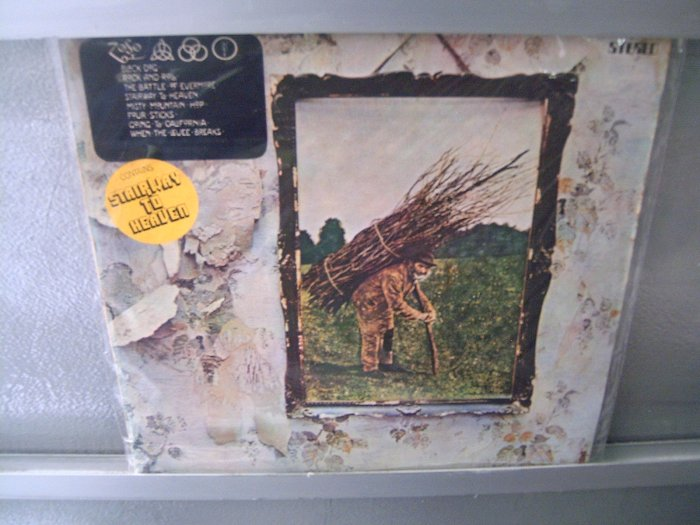 LED ZEPELLIN Vol.4 LP 1974 ORIGINAL CAPA DIFERENTE MUITO RARO