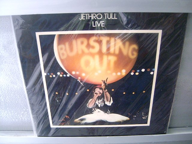JETHRO TULL Bursting Out LP SEMI NOVO MUITO RARO