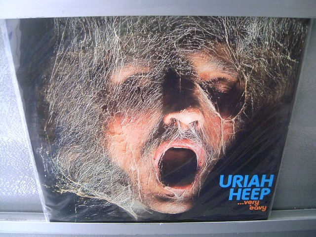 URIAH HEEP Very Eavy Very Umble LP DAVID BYRON SEMI NOVO MUITO RARO