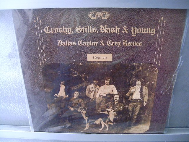 CROSBY STILLS NASH AND YOUNG Deja Vu LP SEMI NOVO MUITO RARO
