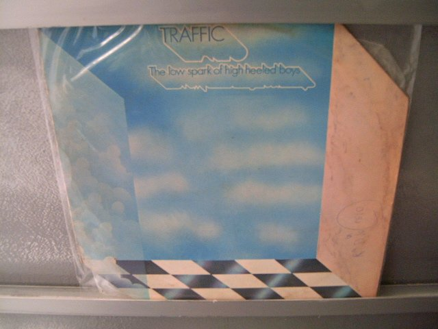 TRAFFIC The Low Spark Of High Heeled Boys LP 1971 ORIGINAL MUITO RARO