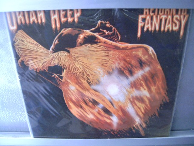 URIAH HEEP Return To Fantasy LP DAVID BYRON HARD ROCK MUITO RARO