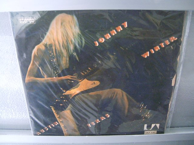 JOHNNY WINTER Austin Texas LP 1973 ROCK BLUES MUITO RARO