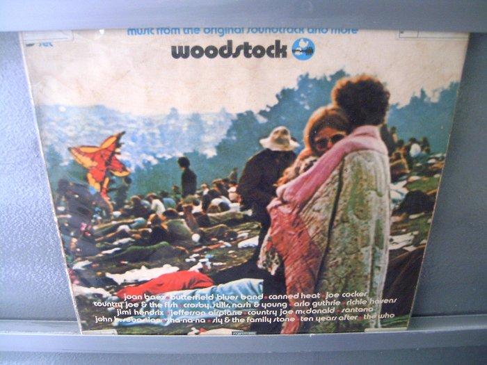 WOODSTOCK Woodstock Festival 3LP TRIPLO 1969 JIMI HENDRIX JANIS JOPLIN WHO