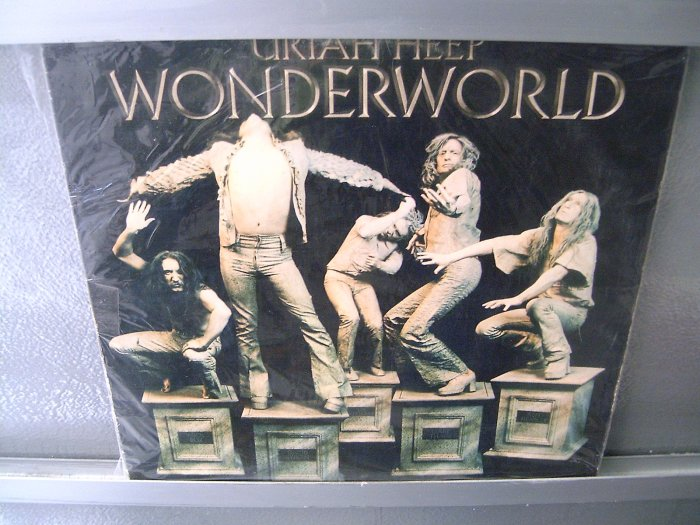 URIAH HEEP Wonderworld LP DAVID BYRON MUITO RARO