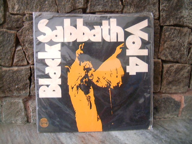 BLACK SABBATH Vol.4 LP  1973 METAL OZZY OSBOURNE