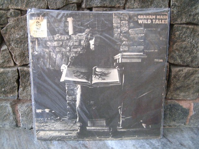 GRAHAM NASH Wild Tales LP 1974 ORIGINAL CSNY HOLLIES