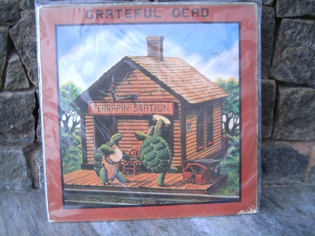 GRATEFUL DEAD Terrapin Station LP 1977 ORIGINAL JERRY GARCIA