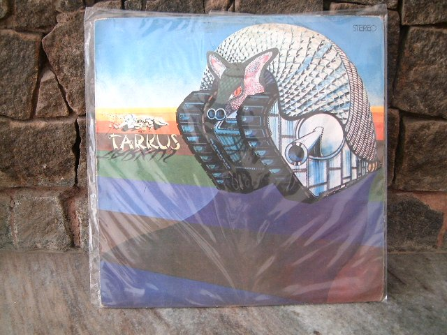 EMERSON,LAKE AND PALMER Tarkus LP 1975 ROCK PROGRESSIVO