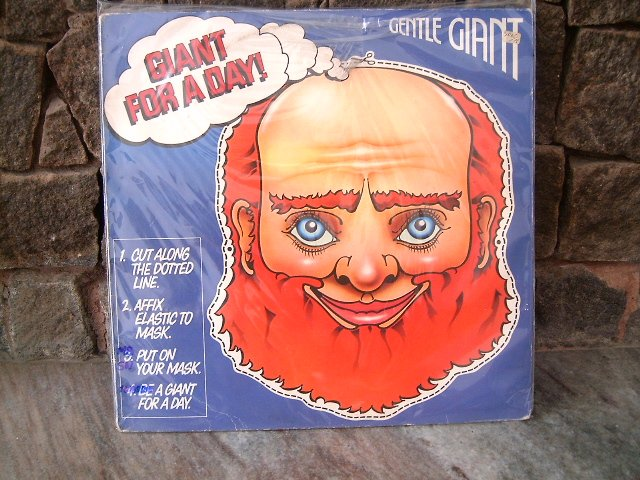 GENTLE GIANT Giant For A Day LP 1978 PROGRESSIVE ROCK**