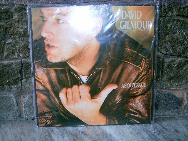 DAVID GILMOUR About Face LP 1984 PINK FLOYD SEMI NOVO