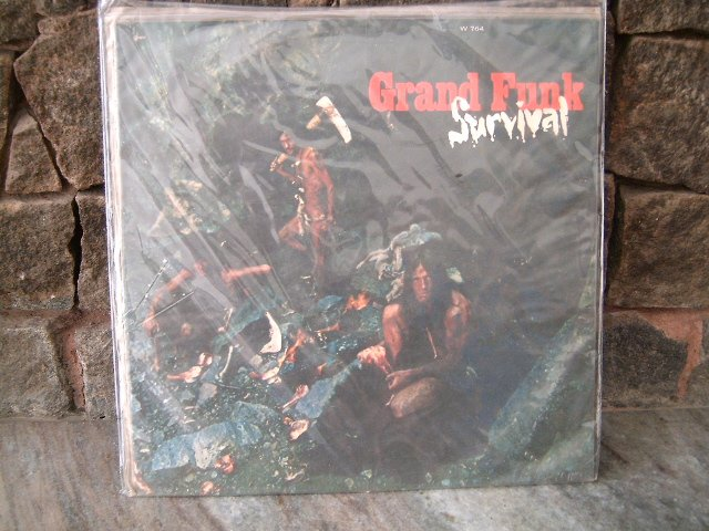 GRAND FUNK RAILROAD Survival LP 1971 HARD ROCK 	MUITO RARO