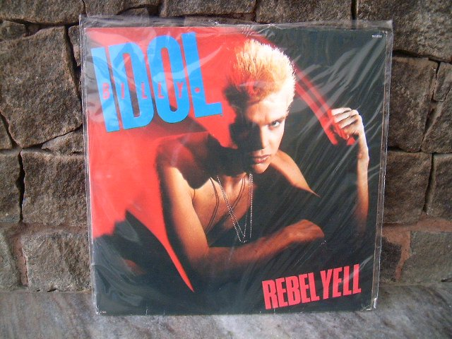 BILLY IDOL Rebel Yell LP 1984 POS PUNK RARO VINYL