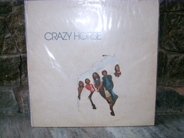 CRAZY HORSE At Crooked Lake LP 1972 ROCK**
