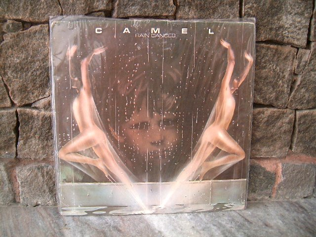 CAMEL Rain Dances LP 1977 ROCK PROGRESSIVO MUITO RARO