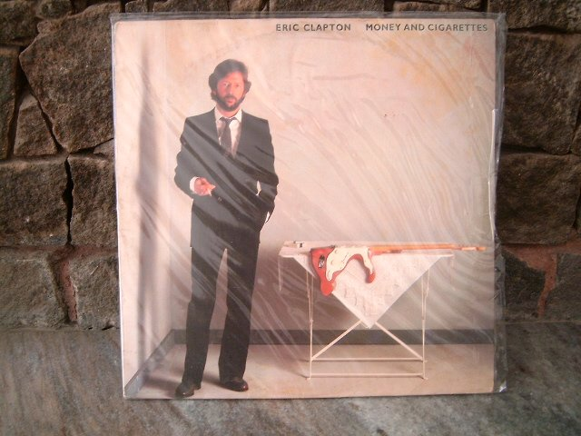 ERIC CLAPTON Money And Cigarretes LP 1983 BLUES ROCK**