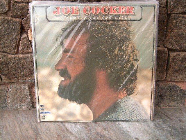 JOE COCKER Jamaica Say You Will LP 1975 MUITO RARO