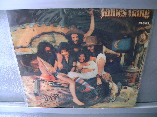 JAMES GANG Bang LP 1974 HARD ROCK MUITO RARO