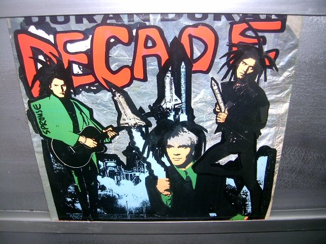 DURAN DURAN Decade LP 1989 New Wave MUITO MUITO RARO EXCELENTE VINIL