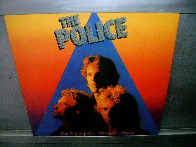 THE POLICE Zenyatta Mondatta LP 1980 ROCK MUITO RARO
