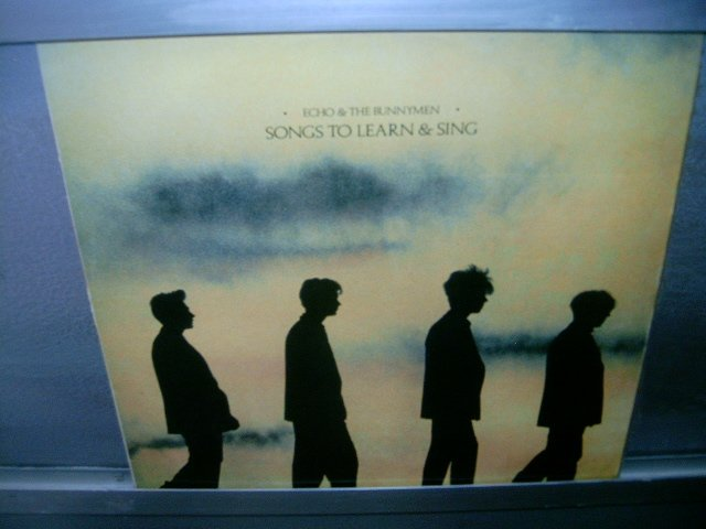 ECHO AND THE BUNNYMEN Songs To Learn And Sing LP 80s NEW WAVE  SEMI NOVO